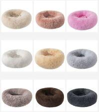 Hundebett Katzenbett Haustierbett Kuschelbett Bett Hundekorb Plüsch Donut Kissen