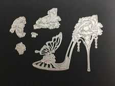 Metal Cutting Dies, shoe works with carnation crafts carnation shoe
