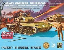 Revell 1/32 Renwal Blueprint M-41 Walker Bulldog Light Tank 7814