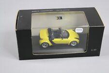 ZC1118 Minichamps 0014179 Voiture Miniature 1/43 Smart Roadster Shine Yellow