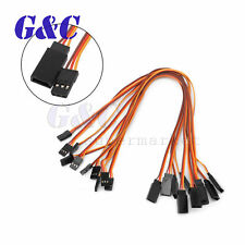 10PCS 300mm Servo Extension Lead Wire Cable For RC Futaba JR Female to Male 30cm
