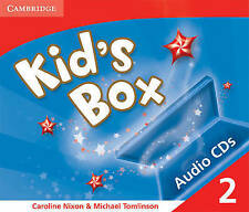 Kid's Box 2 Audio CDs (3): Level 2, Tomlinson, Michael, Nixon, Caroline, Very Go