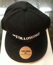 SDCC 2013 THE FOLLOWING KEVIN BACON TV SHOW BASEBALL HATS FROM FOX NEW VERY RARE