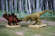 BANDAI Dinosaurs Figure Velociraptor Tyrannosaurus T-Rex Cake Topper K1047_B_C