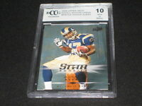 DONNIE AVERY 2008 UD EXCELL #ERC-DA ROOKIE CARD RAMS BECKETT BCCG MINT 10