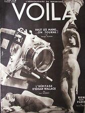 VOILA N°58 (30/4/1932) L'héritage d'Edgar Wallace - Rien que Paris