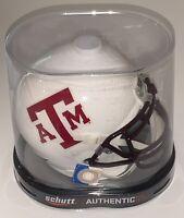 Texas A&M aggies mini helmet white alternate schutt sec football new