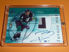 05-06 SP Authentic Corey Perry RC Auto Future Watch Patch 89/100 3CLR FW