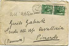 REGNO, DA ROMA, 1939, ANN. MOSTRA INVENZIONI, COPPIA C25 PROCL. IMPERO DANTE   m