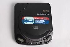 Vintage Sanyo Cdp-47 Compact Portable Cd Player with Bassxpander Free Shipping
