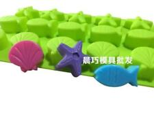 Star Fish Shell Soap Mold Cake Mold Silicone Mould For Candy Chocolate