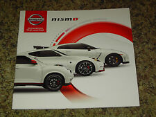2016 NISSAN NISMO PERFORMANCE GT-R 370Z JUKE RS SALES BROCHURE 12 PAGES MINT!