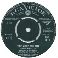 """Malcolm Roberts – Time Alone Will Tell  7"""" Vinyl 45RPM"""