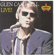 GLEN CAMPBELL Live! CD