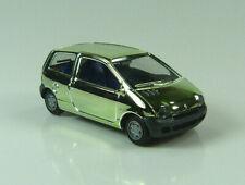 Renault Twingo chrom-grün Herpa 1:87 H0 ohne OVP [I11H-F0]