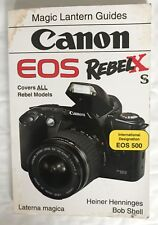 Canon EOS 500 Camera user guide
