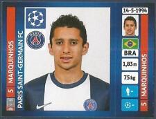 PANINI UEFA CHAMPIONS LEAGUE 2013-14- #174-PARIS SAINT-GERMAIN-MARQUINHOS