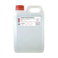 Hydrogen peróxido 9% 5L (5000ml) de calidad alimentaria ** Envío Gratis **