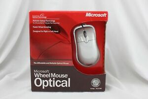 Microsoft Wheel Mouse Optical Model D66-00029 PC/Mac NEW A087