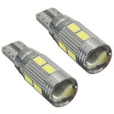 2 X Lampade T10 W5W 5630 10 LED SMD CANBUS luce bianca 6000K Auto 5W X8O5