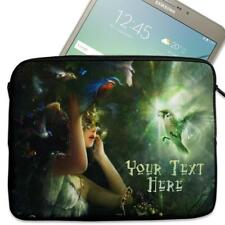 """Personalised Tablet Case FAIRY FANTASY Sleeve Cover 7"""" 8"""" 9"""" 10"""" 11"""" KS10"""