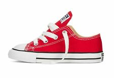 b981a80a4cba Kids s Converse Chuck Taylor All Star Core Ox Low Rise Trainers in Red UK 9  Infant