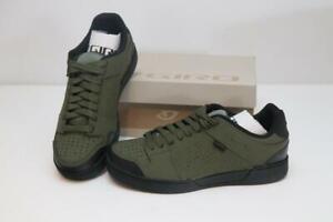 New Men's Giro Jacket II Flat Mountain Bike Shoes 42 9 Olive Black Vibram MTB