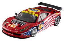 2012 Ferrari 458 Italia GT2 AF Corse Red Mattel Hot Wheels BCT78 1/18 Diecast