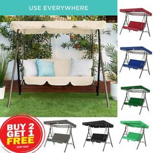 Outsunny Swing Garden chair canopy Patio Wateproof Hammock Bench Lounger Realax