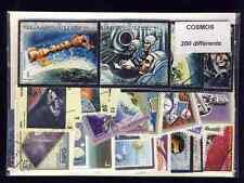Cosmos Espace - Cosmos Space 200 timbres différents oblitérés
