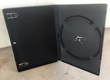 20 like new Black DVD / Video Game Cases for single disc and outer paper insert