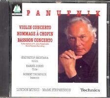 PANUFNIK - Violin & Bassoon Concertos / Hommage A Chopin - Mark STEPHENSON