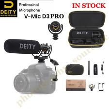 Deity V-Mic D3 Pro Broadcast Quality Super-Cardioid Shotgun Microphone for DSLR