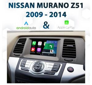 Nissan Z51 MURANO 2009 - 2015 Apple CarPlay & Android Auto Integration