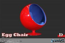 "ZY15-29 ZY Toys 12"" Action Figure 1/6 Scale Fashion Blue Red Space Egg Chair"