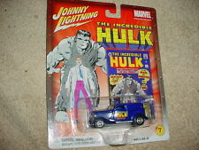 JOHNNY LIGHTNING MARVEL INCREDIBLE HULK '33 FORD WITH RUBBER TIRES FREE USA SHIP