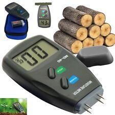 LCD Digitale 4-Pin legno 5% -40% di Umidità Misuratore Umidità Umidità Rivelatore Tester