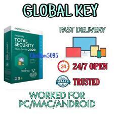 KASPERSKY TOTAL SECURITY ANTIVIRUS 2020 GLOBAL KEY FOR PC/MAC