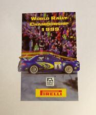 Adesivo Sticker WORLD RALLY CHAMPIONSHIP 1999 PIRELLI -  Auto old rare anni '80