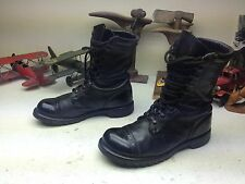 ALIEN LONDON UNDERGROUND BLACK LEATHER LACE UP ENGINEER BOSS BOOTS 13 M
