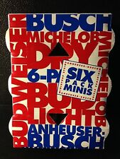 Budweiser Anheuser Busch Michelob Mini Steins