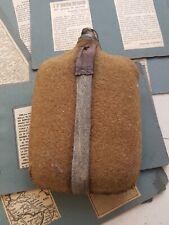 Regio esercito ww1 scavo kuk borraccia in ferro 1917 e bollettini di guerra