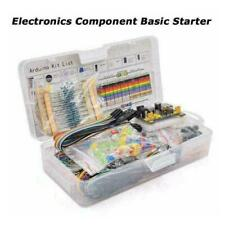Electronic Component Starter Kit Wires Breadboard Buzzer R5y0 Resistor L3h9