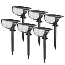 LED Landscape Light Solar Powered Outdoor Garden Path Lawn Yard Lamp Waterproof