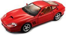 Bburago 1:24 Ferrari 550 Maranello Diecast Model Sports Racing Car Vehicle NIB