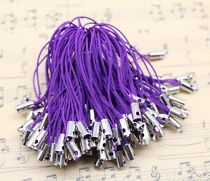 100pc 20 Color Cell Phone Lanyard Cords Strap Lariat Mobile Dangle DIY