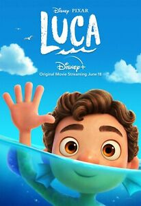 Luca (2021) Animated Silk Movie Poster High Quality Home Wall Decor (e) 24x36in
