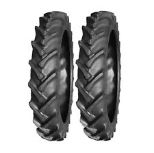 2 new Speedways 9.5-32 Rear Tires for John Deere H Farm Tractor 9.5x32