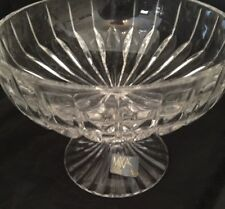 """Mikasa Park Lane Footed Compote 5 1/4"""" SN101 New"""