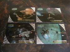 1999 Skybox--Star Trek DS9--Memories From The Future--Greatest Space Battles-Lot